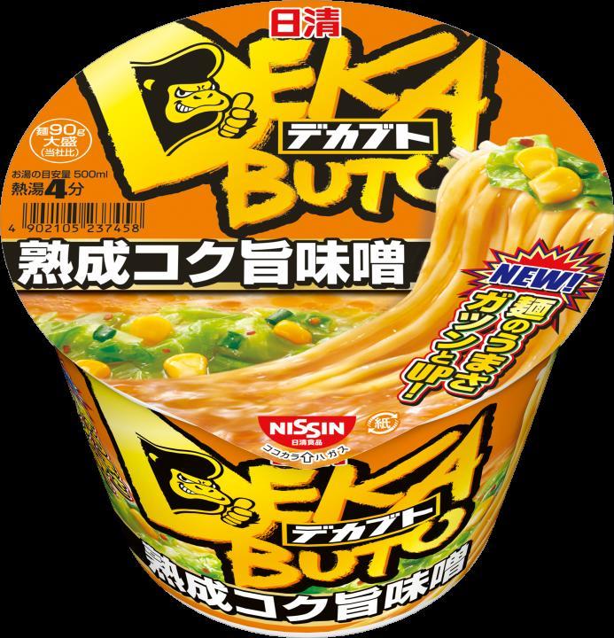 日清食品 デカブト 熟成コク旨味噌 119g 4902105237458
