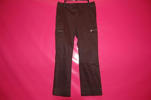 6ポケット ブラック パンツ【中古】