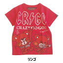 【SALE★50%OFF】17SS chummy's market チャミーズマーケット 51710108a クレイジーゴーゴー  ROCK LIKE-T