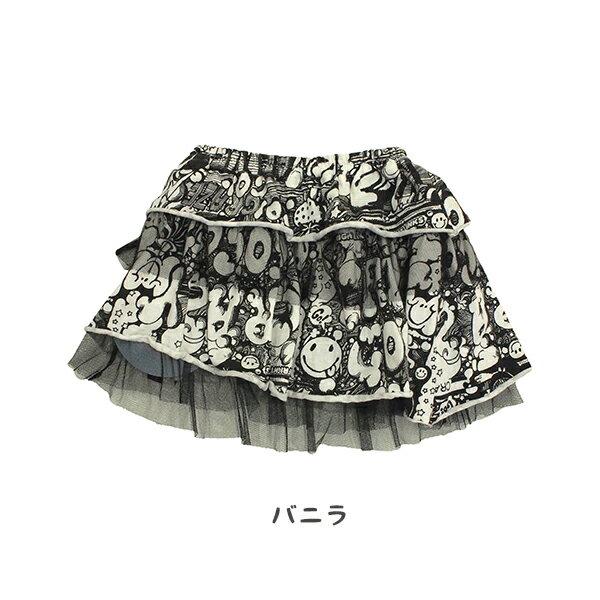 ◆半額SALE50%OFF◆ クレイジーゴーゴー クレイジークレイジーSK(80cm〜140cm)チェリッチュ パッチワークSK(80cm〜140cm) 女の子 ギフト かわいい 子供服 プレゼント キッズコーデ 親子コーデ リンクコーデ キッズ スカート