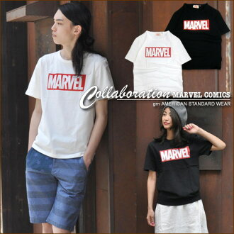Gerard en * [grn×MARVEL] Marvell box logo ★ collaboration t-shirt