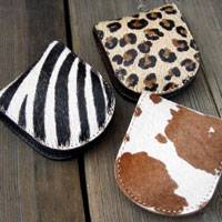 HAIR ON PONY HIDE ★ coin purse