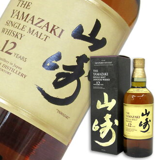 Suntory Whisky Yamazaki 12 years 700 ml (Comes in an exclusive box)