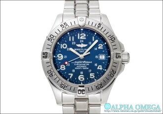Breitling Super Ocean Ref.A17360 blue dial-2000s