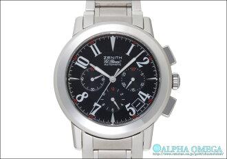 Zenith Port Royal V El Primero Ref.01/02.0451.400 black dial, 2002