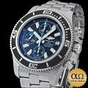 Brightman ring supermarket ocean chronograph Ref.A13341 abyss blue dial 2011 [used] [men]