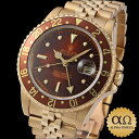 Rolex GMT master Ref.16758 brown nipple (rock barnacle) dial 1984 [antique] [men]