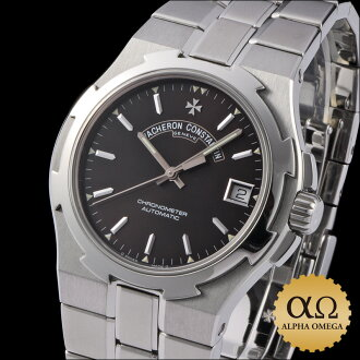 Vacheron Constantin overseas large black dial Ref.ST42040.423.41 SS 2000, around