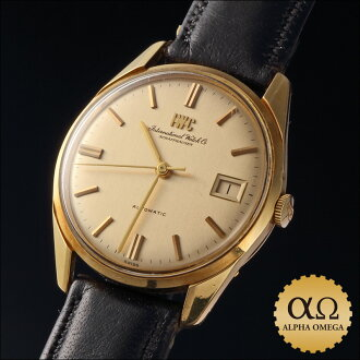 IWC automatic yellow gold Ref.810A Cal.8541B 1970