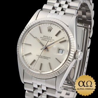 Rolex Datejust watch Ref.16014 Silver Dial, 1985