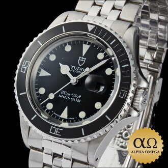 Tudor Prince Oyster date mini sub Ref.73090 black dial, 1991