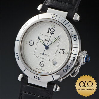 The Cartier pasha 38mm Ref.W3103155 stainless steel 2000s