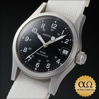 The Hamilton khaki field machine Ref.H69319933 stainless steel black dial 2000s