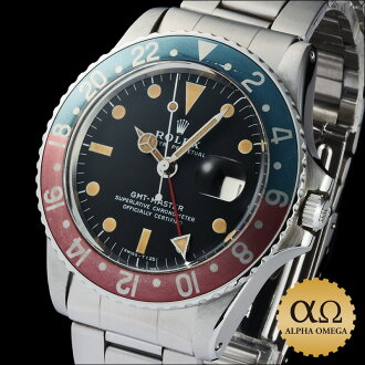 Rolex GMT Master Ref.1675 stainless steel mark of Matt Canale 2 dial-1972