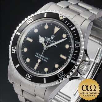 Rolex submarina Ref.5513 black dial 1986