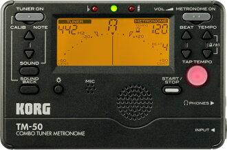 KORG TM-50-BK Metro-tuner-Korg metronomes & tuners