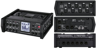 ROLAND R-88 8-CHANNEL RECORDER & to realize an ideal MIXER recorder DAW with portable recorder & mixer