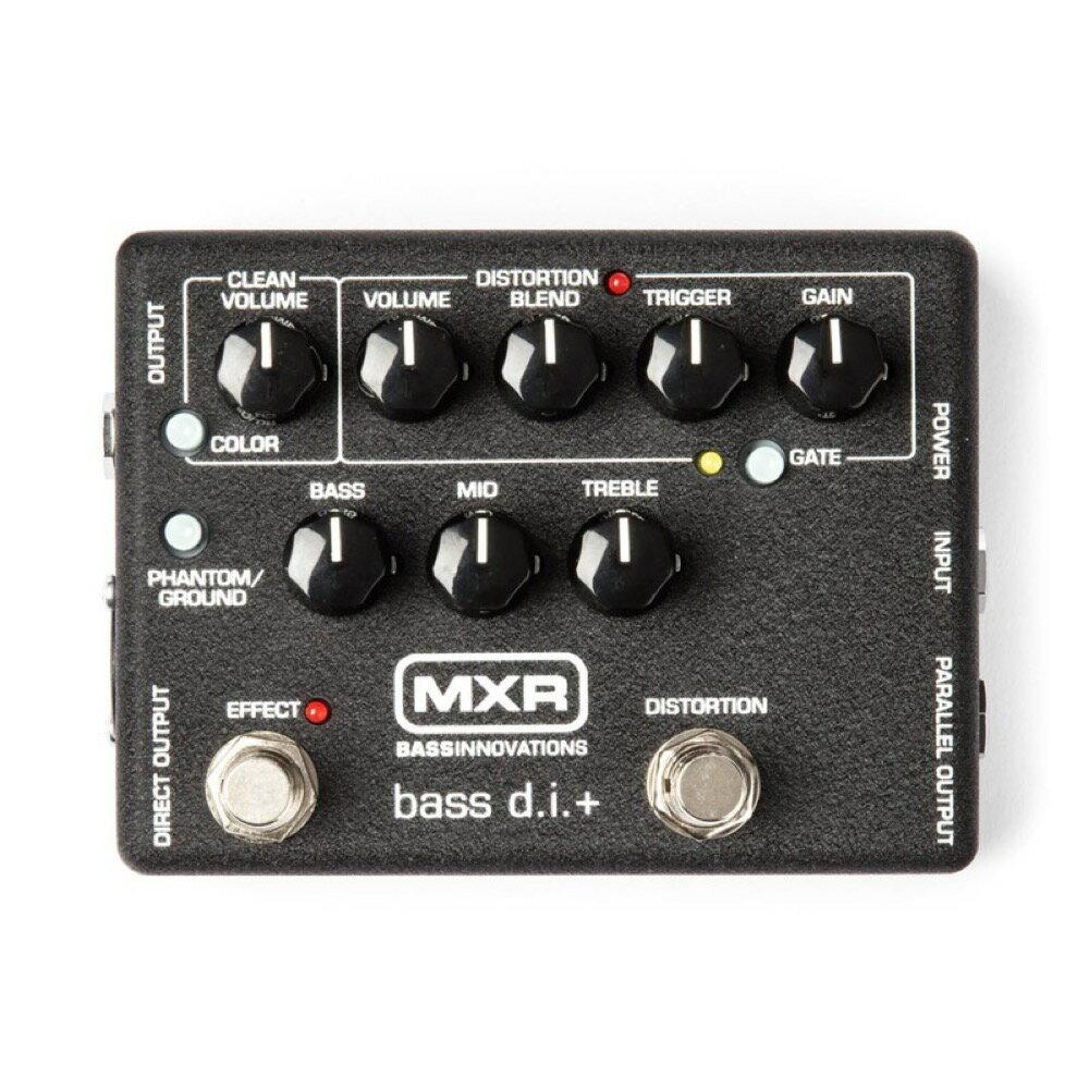MXR M-80 BASS D.I ベース用ダイレクトボックス
