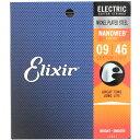 ELIXIR 12027 NANOWEB Custom Light 09-46 エレキギター弦