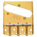 Fender 3-Saddle American Vintage Telecaster Bridge Assembly Gold ギター用ブリッジ