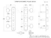KLUSON3perplate/PB/Nickel/Eyelet�������ڥ�