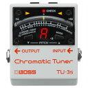 BOSS TU-3S Chromatic Tuner コンパクトチューナー