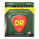 DR DRAGON SKIN DSA-2/12 MEDIUM 2PACK アコースティックギター弦 2セット入り