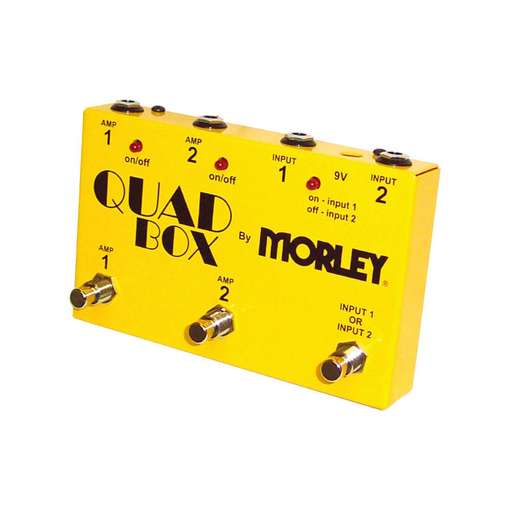 MORLEY QUAD BOX ラインセレクター ギター2本アンプ2台を自在にセレクト可能な2in/2outセレクター