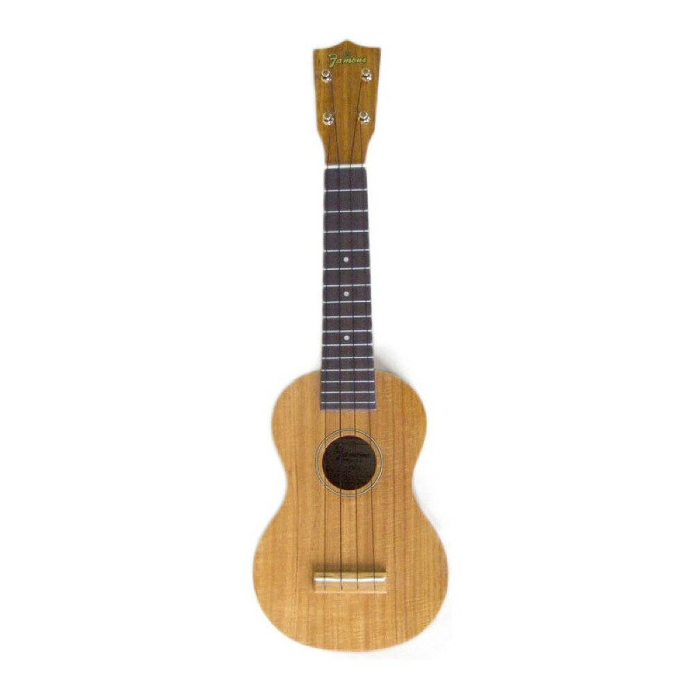 The ukulele Fay trout koa adoption ukulele soft case with the FAMOUS FS-5 soft case is with it