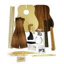 HOSCO GR-KIT-D2 フォークギター アコースティックギター組み立てキットフォークギターキット マホガニーHOSCO楽器組立キットは「楽器製作」をご家庭や学校で楽しんでいただく事ができます。市販品にはない愛着と苦労しながら完成にたどりついた時の達成感は何事にも替えられません。GR-KIT-D2フォークギター組立キットは、マホガニー胴裏仕様のドレッドノートタイプギター組立キットです。材質:表板/スプルース合板、胴裏/マホガニー製作目安日数:2〜3週間