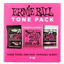 ERNIE BALL 3333 Electoric Tone Pack Super 09-42 エレキギター弦 3セットパック