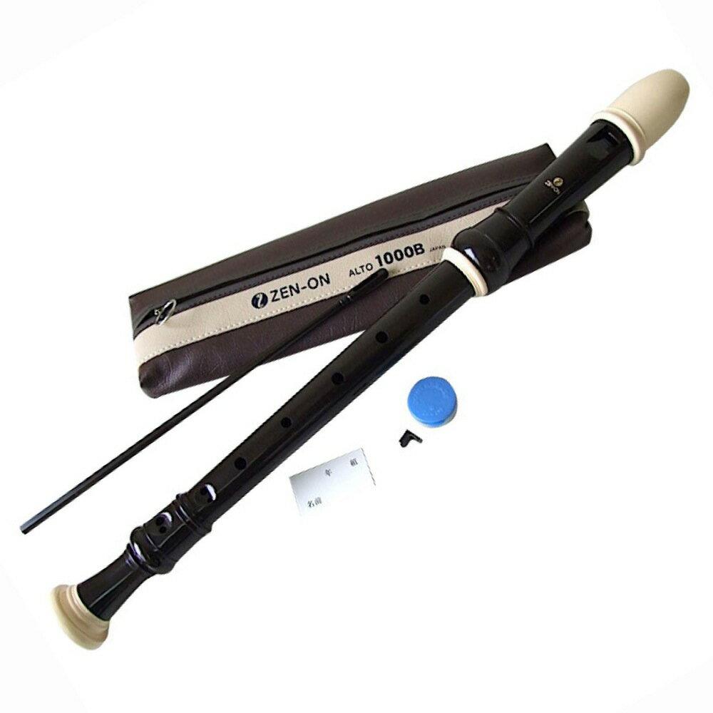 全音 1000B ABS樹脂製アルトリコーダー...:chuya-online:10021397
