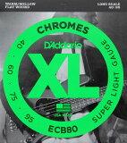 【】D''Addario ECB80/furattowaundo 电吉他基本弦 DadaRio furattowaundo 基本用040-095 fs2gm[D''Addario ECB80/フラットワウンド エレキベース弦]