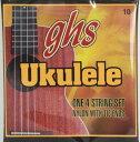 GHS 10/Standard Ukulele Clear Nylon ウクレレ弦