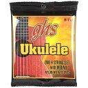 GHS H-T10/Hawaiian Tenor Ukulele Black Nylon ウクレレ弦