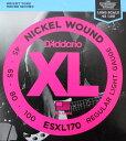 D'Addario ESXL170 ベース弦