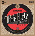D 039 Addario Pro-Arte EJ45-3D クラシックギター弦 3セットパック