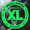D'Addario EXL220TP/Super Light 2セットパック ベース弦