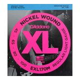 D''Addario EXL170M ミディアムスケール ベース弦