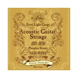 ARIA AGS-203XL 3セットパック アコースティックギター弦