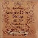 ARIA AGS-203L 3セットパック アコースティックギター弦