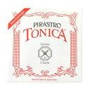 PIRASTRO TONICA 312741 3/4 1/2 E線 ボールエンド スチール トニカ バイオリン弦