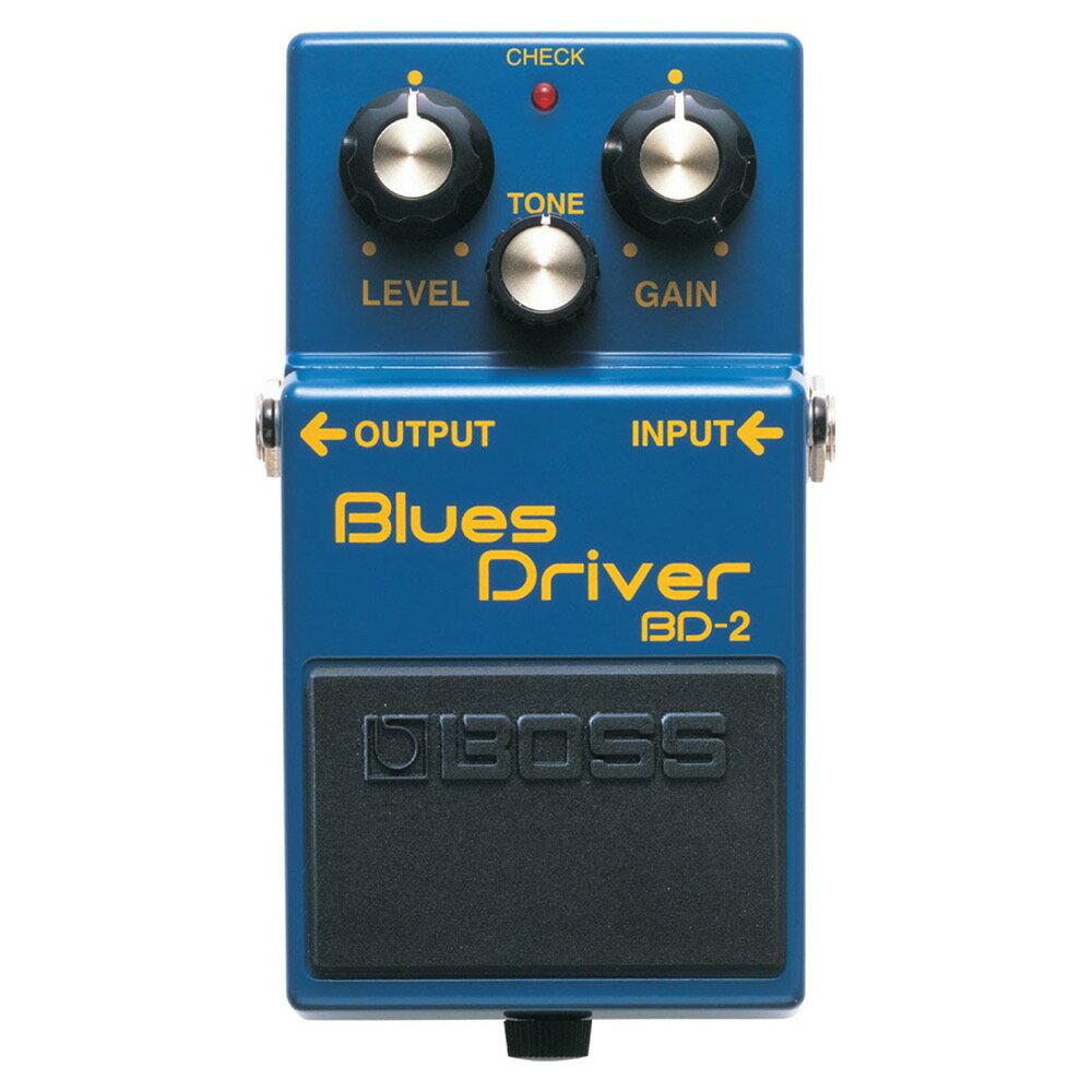 BOSS BD-2 Blues Driver オーバードライブ