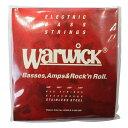 WARWICK 42200 RED stainless steel 4-string Set M 045-105 ベース弦
