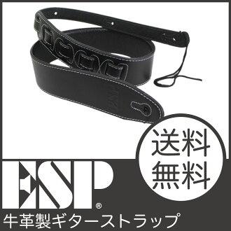 ESP ES-S-CT11吉他吊帶E SP牛皮的吉他吊帶fs04gm