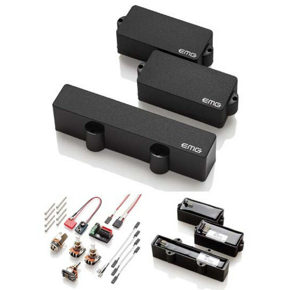 EMG EMG-PJ-SET BLACK ベース用ピックアップ