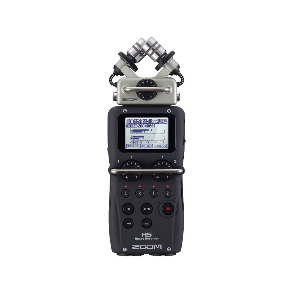 New world standard of the ZOOM H5 handy recorder portable recording