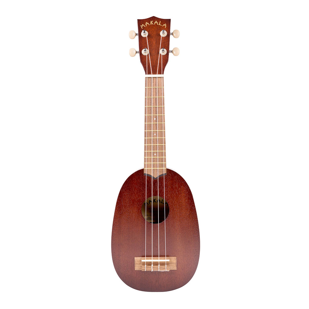 The MAKALA series using the アガチス materials which is the best for the KALA MAKALA MK-P soprano ukulele pineapple type pitch pipe presuming on gates