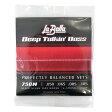 La Bella 750N Black Nylon Tape Wound 50-105 エレキベース弦