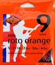 ROTOSOUND ROT-RH9 Roto Orange Hybrid Lt エレキギター弦
